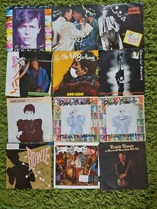 """David Bowie 7"""" Picture Sleeves"""