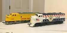Vintage TYCO 1776+Bachmann Union Pacific Diesel Locomotives HO Scale Very Nice!