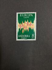 MOMEN: ANDORRA CEPT 1972 MINT OG NH LOT #7405