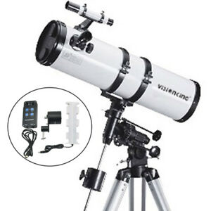 Visionking150 - 750mm EQ Reflector Newtonian Astronomical Telescope+motor