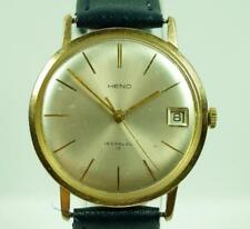 Swiss Gentlemen's HENO Incabloc 17 Jewels Vintage Wrist Watch Manual Wind 35mm