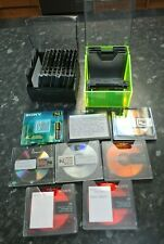 8 x Recordable Minidisc bundle with two Minidisc Cases