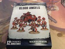 40K Warhammer Blood Angels Start Collecting! NIB Baal Predator