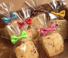 20X Metallic Bow Tie Twist Tie Cello Candy Cookie Bag For Party DIY 8cm