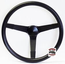 """1974-1993 Volkswagen steering wheel 14 3/4"""" VINTAGE BLACK"""