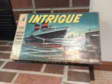 Intrigue Board Game 1956 Complete