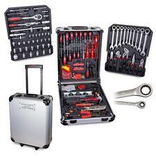 Werkzeugkoffer 187tlg mit Ratschenschlüssel für Heim- und Handwerker
