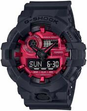 Casio G-Shock GA-700AR-1A Analog-Digital  Black & Red Men's Watch