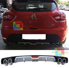 RENAULT CLIO IV 2012+ DIFFUSORE SOTTO PARAURTI QUATTRO TERMINALI ABS -
