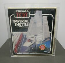 Imperial Shuttle ROTJ Kenner 1984 STAR WARS AFA Graded 80 NM MIB Sealed