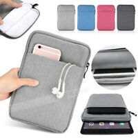For New iPad (7th Generation) 10.2'' inch 2019 Soft Sleeve Bag Pouch Case Cover