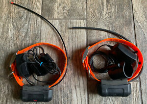 Two Garmin DC40 GPS Collars For Garmin Astro 220 Astro 320 + Wall Chargers!