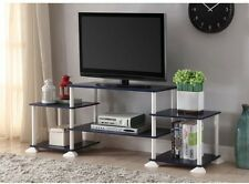 TV Stand Furniture No-Tool 3 Cube Entertainment Cheap Center For TVs Up To 40