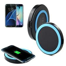 Qi Wireless Power Charger Charging Pad For Samsung Galaxy S7/S7 Edge Blue New