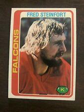 1978 Topps Fred Steinfort Atlanta Falcons 66