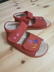 Leder Sandalen Gr. 25 Bären Schuhe Mädchen