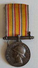 Médaille d'honneur sapeurs pompiers 20 ans en argent massif