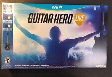 Guitar Hero Live Bundle W/ Wireless Guitar Controller (Wii U) NEW