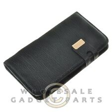 Samsung N7100 Note 2 Wallet with Magnetic Phone Case-Black Protector Guard