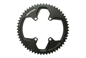 Rotor 110x4 Round Ring Chainring 39T (Inner Ring) Black