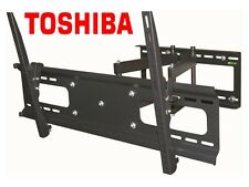 "Cantilever Tilt Swivel Toshiba TV Wall Mount 42 Inch 50"" 55"" 60"" 65"" 70"" LED LCD"