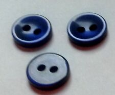 """PKG 0F 72 BUTTONS FOR BUTTON NECKLACE 3/8 """" NAVY BLUE"""