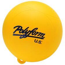 polyform  YELLOW 9 inch water ski buoy marker slalom