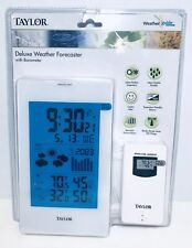 Taylor Weather Guide, Deluxe Weather Forecaster Device, w/ Barometer (3952)