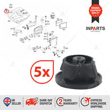 5X ENGINE COVER GROMMETS BUNG ABSORBERS FOR MERCEDES BENZ 6420940785