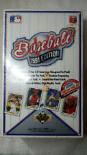 1991 Upper Deck Low Series Find the Nolan Baseball Box Michael Jordan SP1 sealed