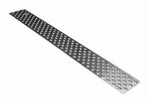 Handi Treads - Aluminum Non-Slip Stair Tread (Silver Powder Coated) 30 x 3.75 in
