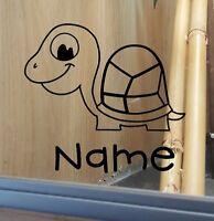 Tortoise Customised Vivarium Decal Sticker