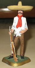 Grande figurine bandit Mexicain en métal