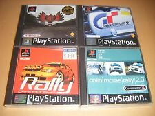4 RACING GAMES (GRAN TURISMO ETC) (PS1 GAME WITH MANUAL)