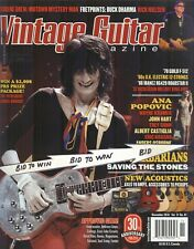RON WOOD  VINTAGE GUITAR Magazine Nov 2016 NEW BARBARIANS Saving The Stones COOL