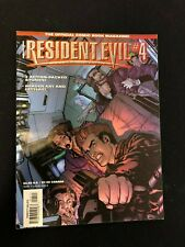 Resident Evil Comic Book Magazine # 4 - DC Wildstorm