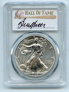 2020 (S) $1 Silver Eagle Emergency Issue PCGS MS70 FDOI Bruce Sutter