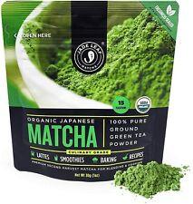 Jade Leaf Matcha Green Tea Powder - USDA Organic, Authentic Japanese Origin - Cu