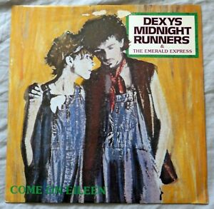 """Dexys Midnight Runners - Come On Eileen. 12"""" Single. DEXYS 912. 1982. VG+/VG+"""
