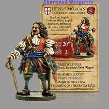 Henry Morgan A True Legend, 28mm Blood & Plunder Piracy Firelock Games BNIB