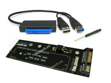 Sintech 2012 MACBOOK PRO MC975+Air MD223 MD231 ssd SATA Adapter With USB Cable