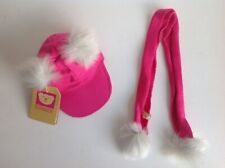 """New Design A Bear Hat and Scarf Set For 15"""" Chad Valley Designabear"""