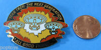 PIN enamel cloisonné Star Trek Next Generation ALL GOOD THINGS finale episode