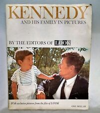 Kennedy And His Family In Pictures Vintage 1963 Picture History Book JFK