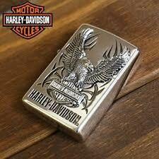 ZIPPO / HARLEY-DAVIDSON Cigarette Oil Lighter....... LIMITED EDITION HDP-07