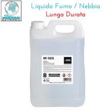 LIQUIDO PER MACCHINA EFFETTO FUMO NF-502L 5 LITRI LUNGA DURATA ALTA QUALITA LONG