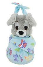 Disney Parks Baby Scamp in a Blanket Pouch Plush New with Tags