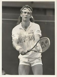 Tennis BW Press Photo Pat Cash Wimbledon Champion 1987 (5)