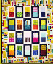 PATTERN - About Face - pieced quilt mini PATTERN - Villa Rosa Designs