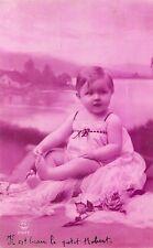 CARTE POSTALE FANTAISIE ENFANT BEBE PHOTO P.C 2377